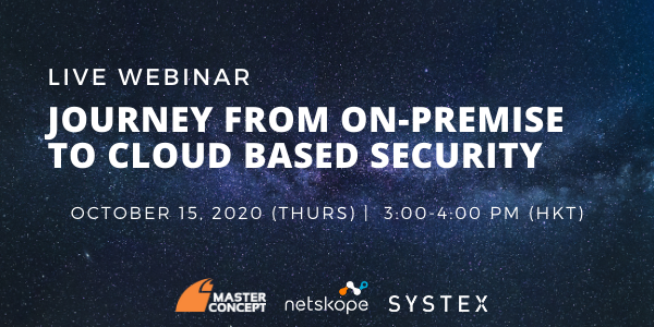 Netskope webinar cloud security