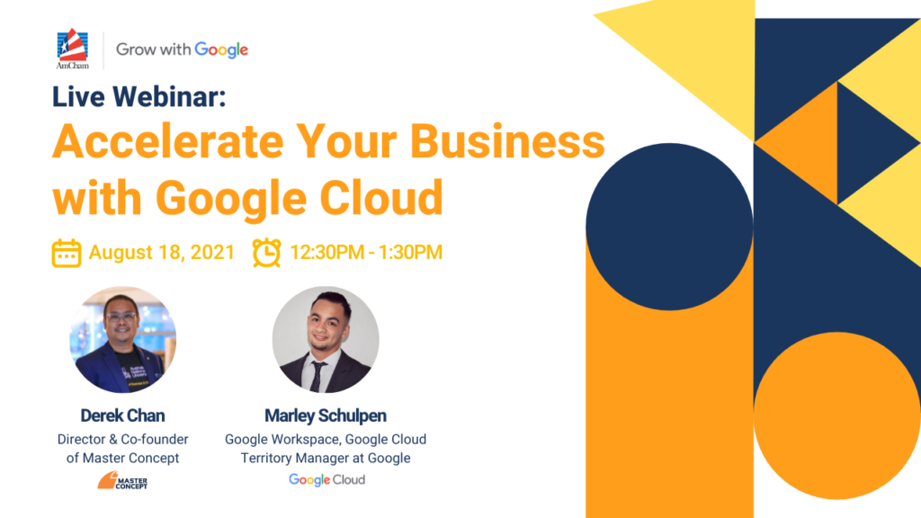 Live Webinar: Accelerate your business with Google Cloud